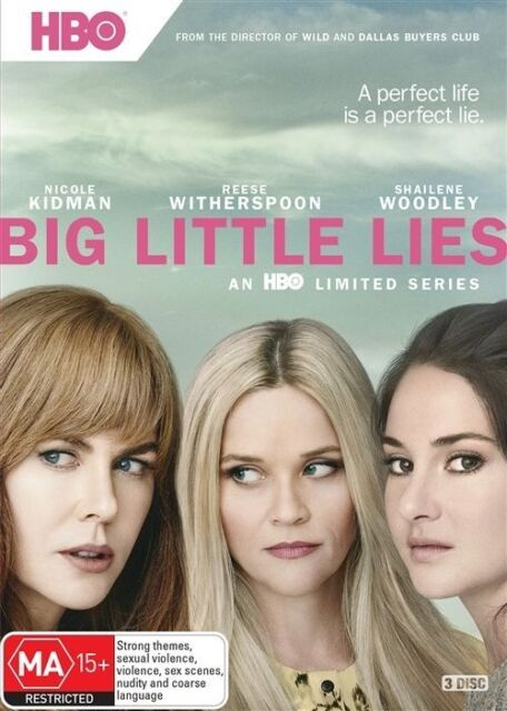 Big Little Lies Saison 1 Netflix : little, saison, netflix, Little, Season, (DVD,, 2017,, 3-Disc, Online