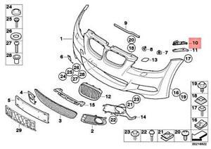 Genuine BMW E92 E93 316i 318i 320d 320i Guide For Bumper