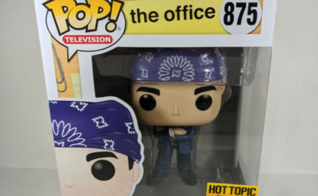 Funko POP Television The Office Prison Mike #875 Hot Topic Exclusive