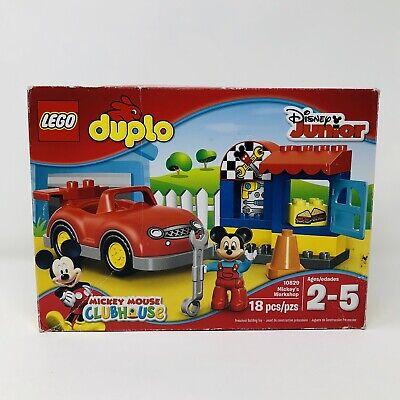 LEGO Duplo 10829 MICKEYS WORKSHOP Mouse Clubhouse Disney Junior   eBay