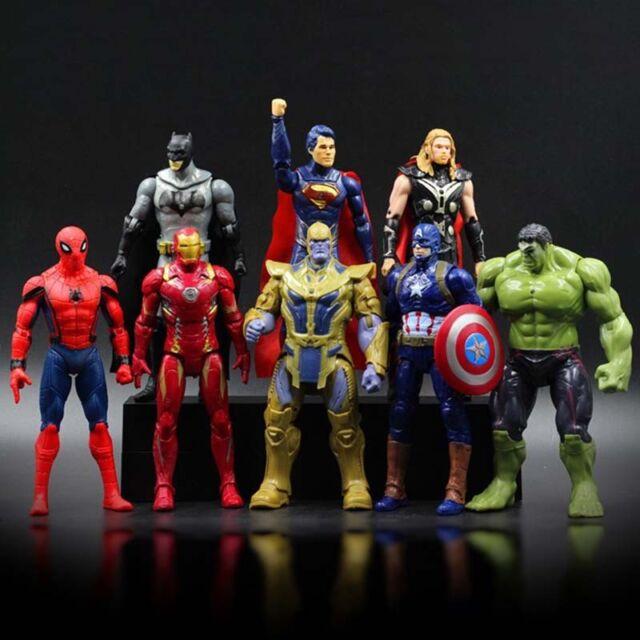 8pcs marvel avengers thanos