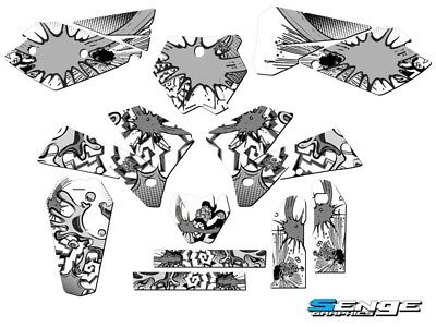 2005 2006 KTM SX 125 250 450 525 GRAPHICS KIT DECO DECALS