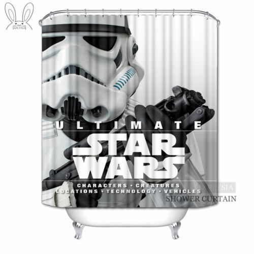 shower curtains star wars shower curtains alien robot movies custom waterproof fabric bathroom c home garden