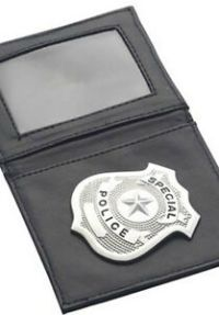 Police Wallet Badge Holder Sheriff Officer Security Cop ID ...