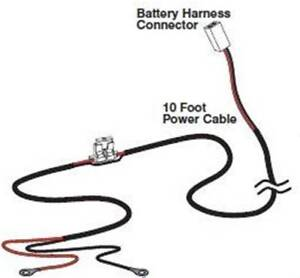 Mighty Mule GTO FM350 Battery Power Cable, Gate Opener