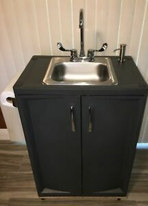 details about outdoor sink portable hand washing sink station self contained garden sink