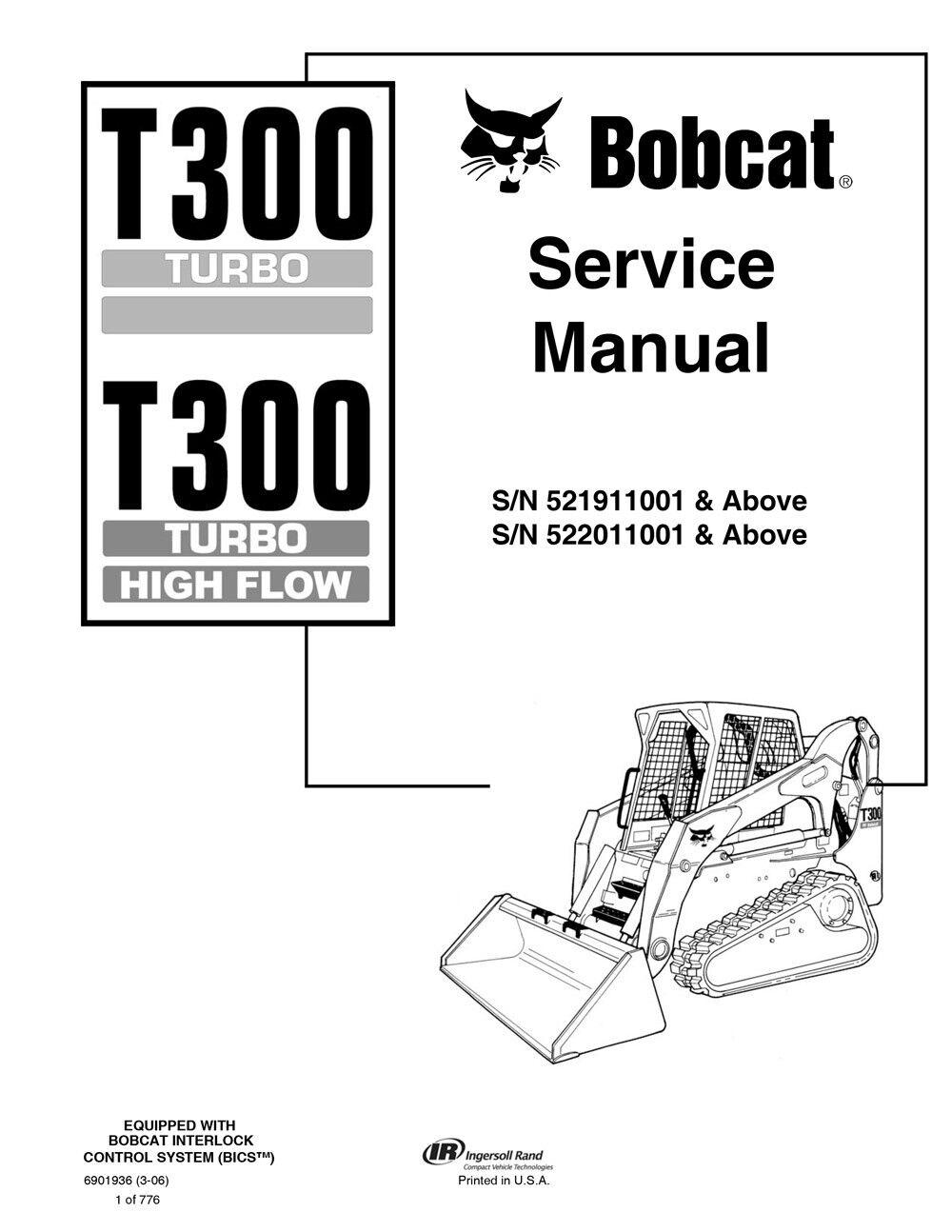 New Bobcat T300 Turbo Highflow Track Loader 2006 Edition