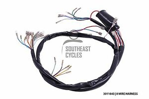 High quality 6V wire harness/loom (8wire) for Honda cub