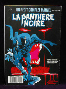 Panthère Noire (comics) : panthère, noire, (comics), Marvel, Panthere, Noire, (Black, Panther)
