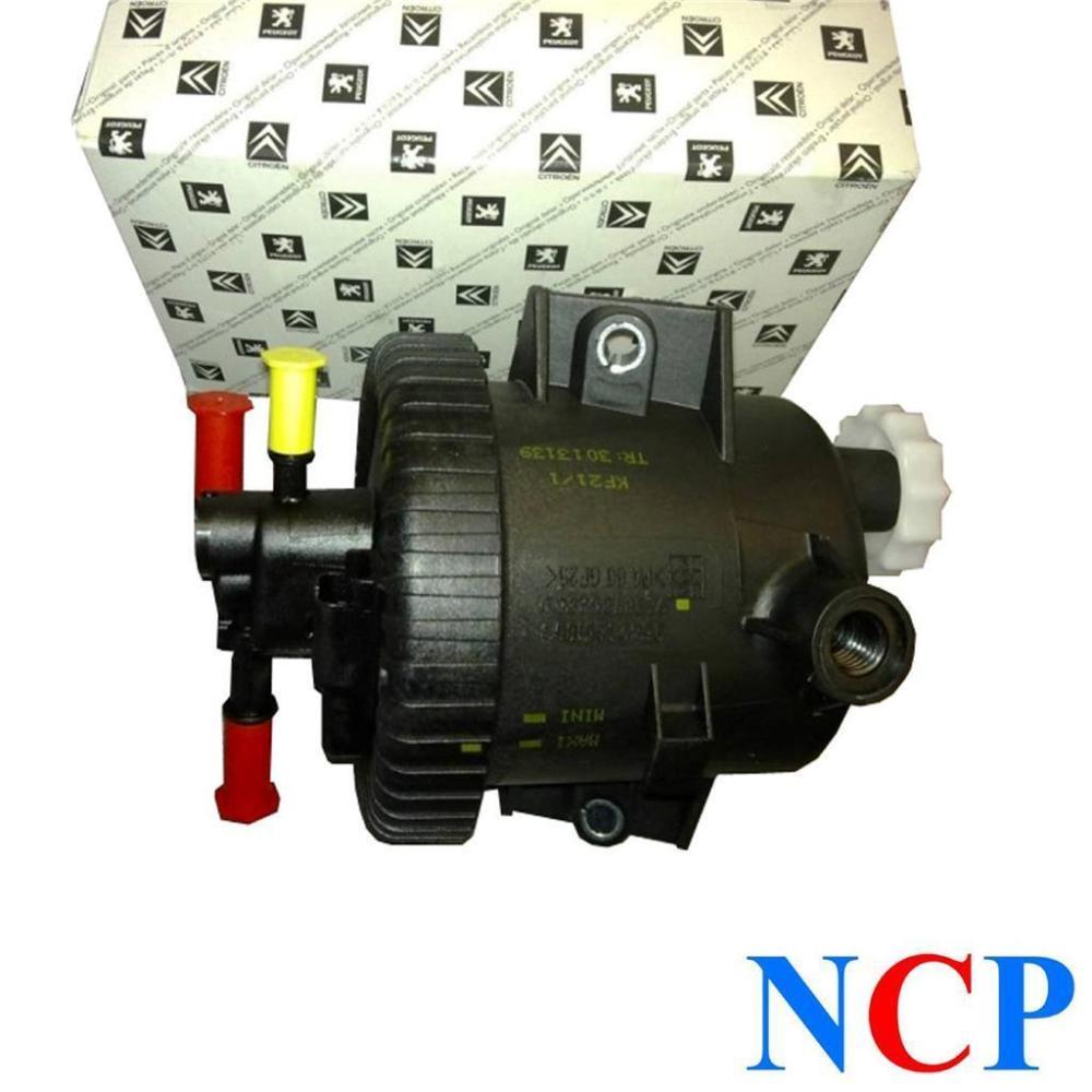medium resolution of peugeot citroen fiat 2 0 hdi fuel filter housing inc filter 190165 genuine siemens type