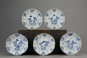 Antique Chinese Porcelain 17th C Ming Dynasty Chinese Taste Kraak Wanli