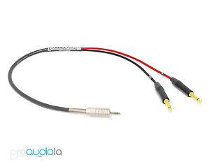 Premium Mogami iPod iPhone Cable Y Adapter Mini 1/8
