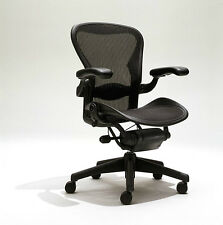 desk chair herman miller kozi revolving buy aeron mesh office medium size b fully adjustable lumbar