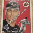 2000 Fleer Tradition Cal Ripken jr Promotional Sample baseball card #353