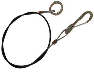 Brake Away Brakeaway Cable For CARAVAN TRAILER Towing Hook