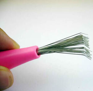 b hair brush cleaner pick plastic handle brand new