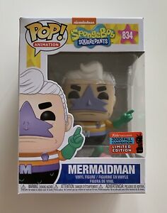 Mermaid Man Funko Pop : mermaid, funko, FUNKO, VINYL, SPONGEBOB, SQUARE, PANTS, MERMAID, EXCLUSIVE