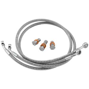 GoodridgeStainless Steel Braided Brake Line Kit~2015