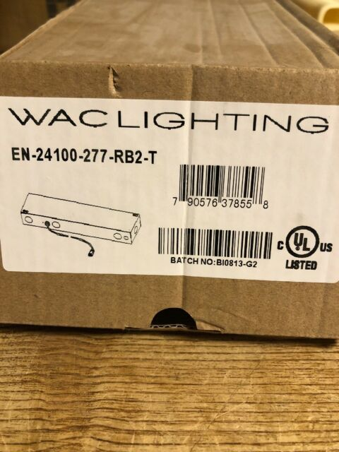 wac lighting invisiled 24v 100w electronic enclosed transformer