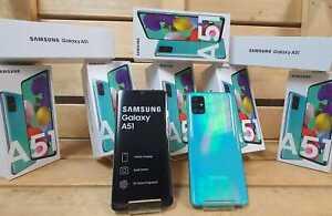 SAMSUNG GALAXY A51 ( A515F ) 128 GB 4 GB RAM BLUE 6.5 INCH 48 MP NEW DUAL SIM