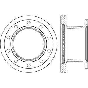 Disc Brake Rotor-C-TEK Standard Rear fits 01-07 Sterling