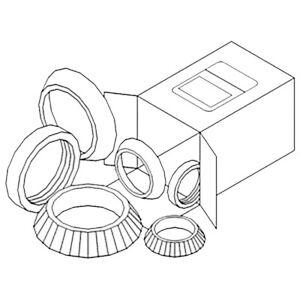 WBK-CA-4 Wheel Bearing Kit Fits Case 730 830 930 1030