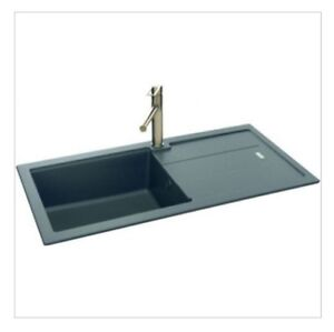 stone kitchen sink gift ideas carron phoenix 105 granite blg105onx4kca 114 0159 image is loading