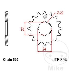 JT Front Sprocket 15T 520 Pitch CAN-AM DS 450 X-mx