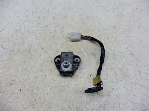 1986 Yamaha XV1100 Virago 1100 Y595. ignition switch parts