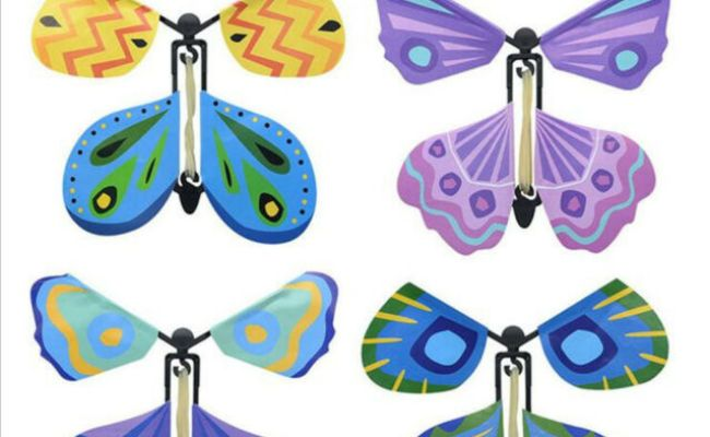 Magic Flying Butterfly Easy To Do Magic Tricks Props Toys