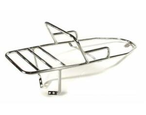 Chrome Rear Luggage Rack Grab Rail Vespa PX T5 LML 2T 125