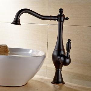 details about 13 oil rubbed bronze bathroom sink faucet vessel lavatory one hole handle tap