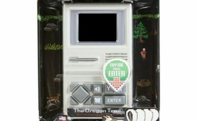 The Oregon Trail Handheld Electronic Game Target For Sale