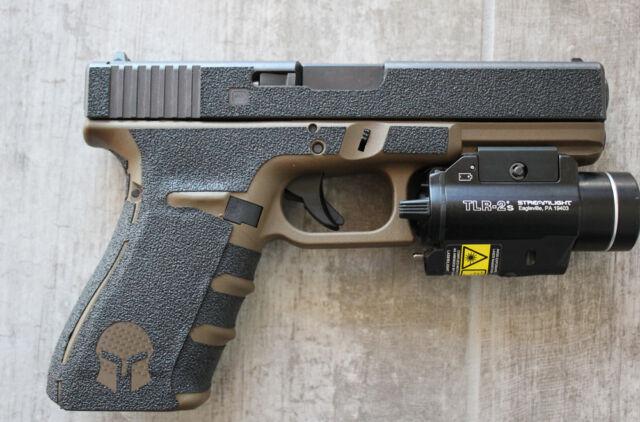 tactical rubber textured gun