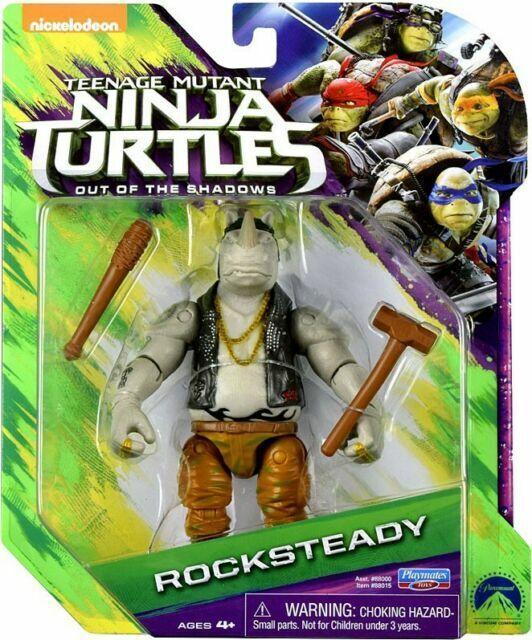 Teenage Mutant Ninja Turtles Out Of The Shadows Toys : teenage, mutant, ninja, turtles, shadows, Teenage, Mutant, Ninja, Turtles, Movie, Shadows, Rocksteady, Basic, Figure, Online