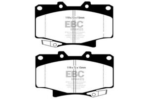 EBC Ultimax Front Brake Pads for Toyota Hilux Surf 3.0 TD