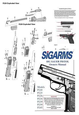 SIGARMS Models P220, P225, P226, P228, P229, P229, P239
