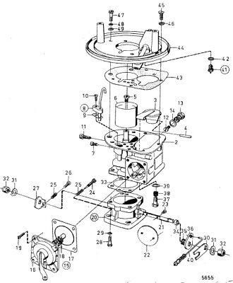Volvo Carburatore Solex 44PA1 Carburatore Kit Aq Modelli