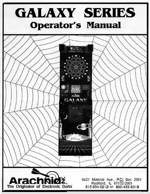 Arachnid Galaxy Operators Manual 41 pages delivered by
