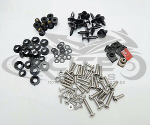 Fairing bolts kit, stainless steel, Honda CBR1000RR 2008