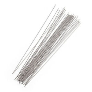 5 Bags Steel Beading Needles about 0.45mm thick 120mm long