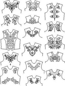 Suitability 6360 Scrolls and Other Appliques Equestrian