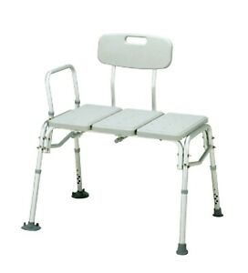 bariatric transport chair 500 lbs cover hire worcester probasics transfer bench lb weight capacity bathroom image is loading