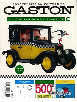 Marque Voiture Gaston Lagaffe : marque, voiture, gaston, lagaffe, Build, Gaston, Lagaffe, Collection, Hachette