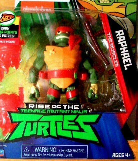 Playmates Toys Rise Of The Teenage Mutant Ninja Turtles Raphael Action Figure 80804 For Sale Online Ebay