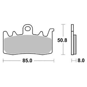 APRILIA Tuono V4 Factory 1100 2015-2016 FRONT BRAKE PADS