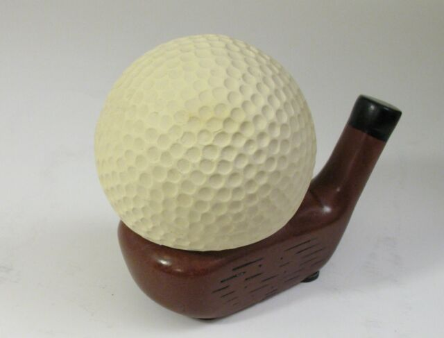 Stress Relief Golf Ball with Wood Club Stand | eBay