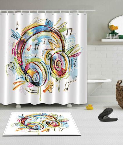 shower curtains 72x72 shower curtain bathroom waterproof fabric bath accessories sets 12 hooks home garden