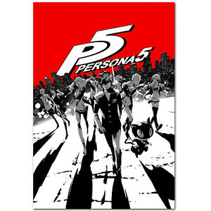 art persona 5 poster ps4 exclusive high