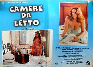 Compra camere da letto by diego abatantuono. Fotobusta Lobby Card Camere Da Letto Simona Izzo Abatantuono Cucinotta Cinema Ebay